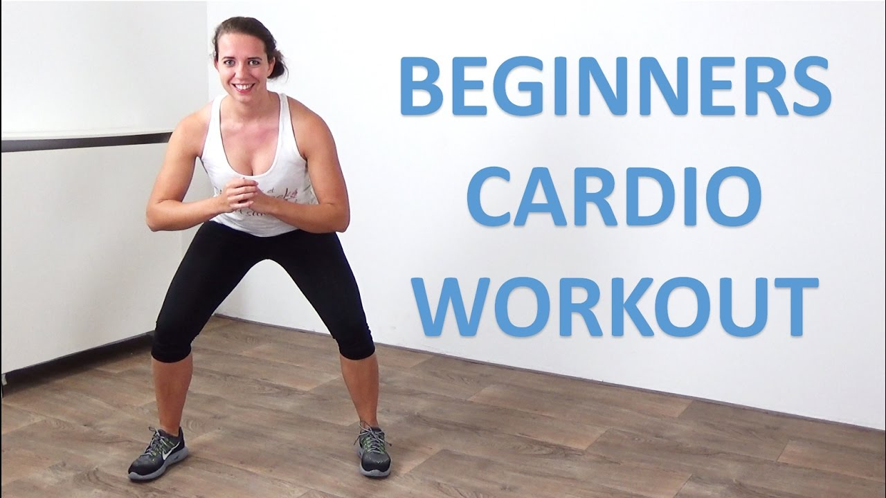Cardio Workout For Beginners 20 Minute Low Impact Beginner Cardio Exercises At Home No Equipment Youtube