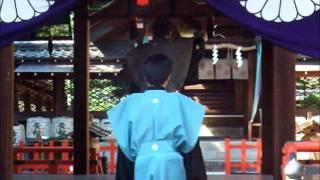 建勲神社 敦盛の舞と舞楽 2011年
