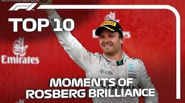 Top 10 Moments Of Nico Rosberg Brilliance