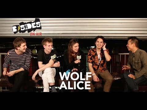 B-Sides On-Air: Interview - Wolf Alice Talk My Love Is Cool, Remixes, Love Songs