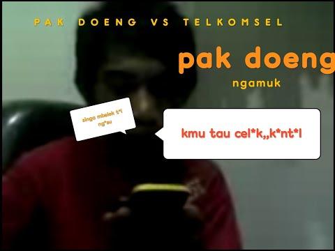 PAK DO'ENG TELEPON OPERATOR (memarahi call center)