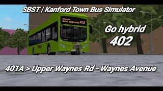 Singapore Bus Services Transit (Roblox)| service 401A | Upper Waynes Rd - Waynes Avenue|