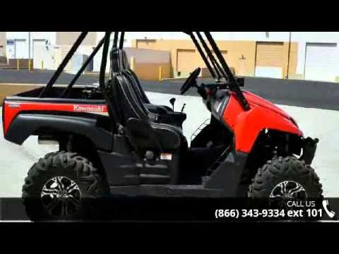 2008 Kawasaki Teryx 750 4x4 LE - RideNow Powersports Peo... - YouTube