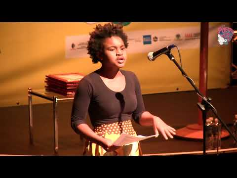 GLORY CHILD PRELUDE AT POETRY AFRICA 2017