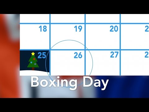What is Boxing Day, anyway?