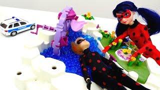 Мультик с игрушками для девочек - ЛедиБаг и Антибаг 1 сентября