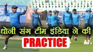 India vs Sri Lanka 3rd ODI Team India holds practice session ahead of 3rd ODI