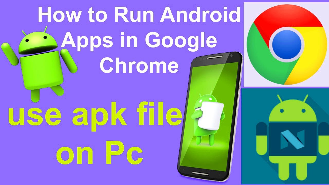 run apk in google chrome