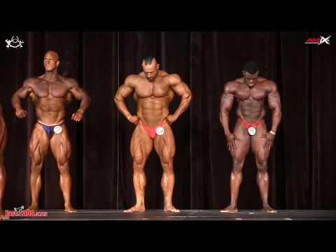 2017 IFBB Diamond Cup BODYBUILDING 100kg plus