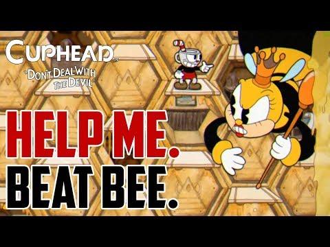 Cuphead : How to Beat Bee Boss
