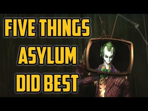 5 Things Batman Arkham Asylum Did BEST  