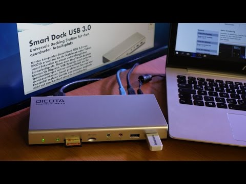 Docking Station für Notebooks und Tablets - HIZ037