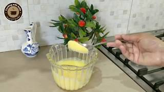 How to make Butter / Ghee at home recipe by Chef Asifa-