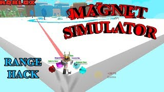 ROBLOX - Magnet Simulator - Weapon Range Hack (Auto Farm)