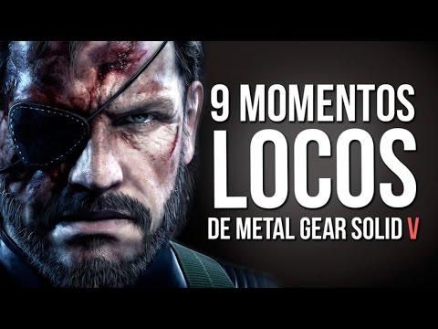 9 MOMENTOS LOCOS de Metal Gear Solid V! (Las mejores Kojimadas)