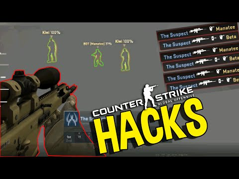 CS:GO - EVERYONE HACKS (OVERWATCH FUNNY MOMENTS)