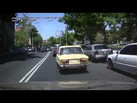 Авария  Два дибила  Ереван)