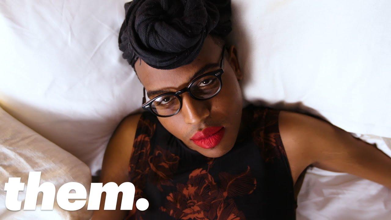 Drag Rapper Laé D. Boi Talks Dating As a Trans Femme | Bedtime Stories | them.