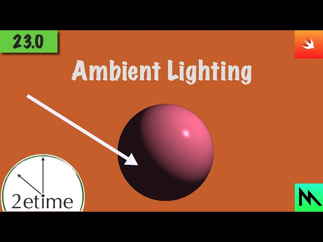 23: Phong Ambient Shading | Swift Game Engine