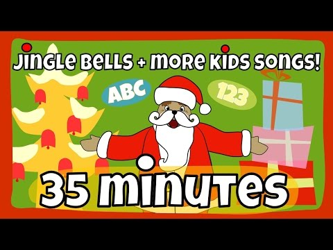 Jingle Bells and other great kids songs   Kids Song Collection   The Singing Walrus