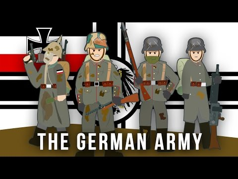 WWI Factions: The German Army