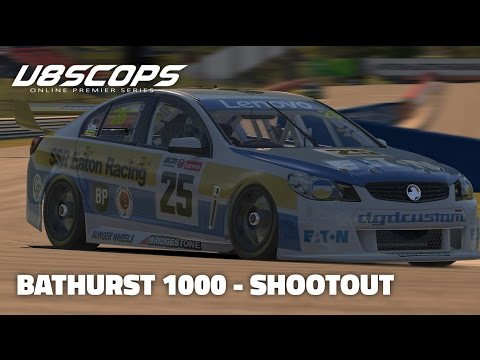 iRacing: V8SCOPS Round 12 (Bathurst 1000) - Shootout (V8 Supercar @ Bathurst)