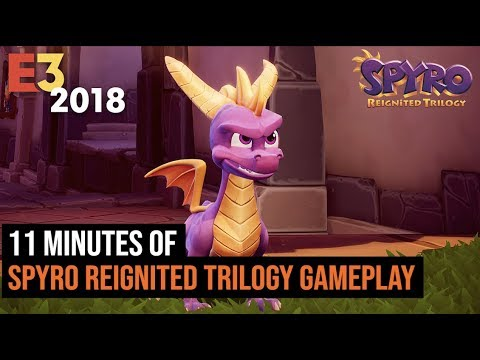 11 Minutes of Spyro Reignited Trilogy Gameplay