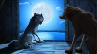 A Lady e o Lobo - Romeu e Julieta uivando para a Lua