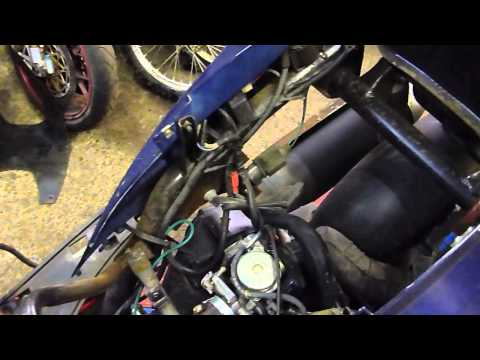 Peugeot Sum - Up 125 Engine start and run GY6 152 QMI Engine
