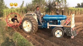 Tractor Routine Working 11 Tine Cultivator Ford Tractor Amazing Machine | Punjab Tractors