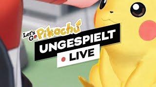Pokémon Let's Go Pikachu 🔴 LIVE
