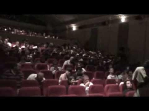TZMAU Screening of Zeitgeist Moving Forward, (walking into theater)