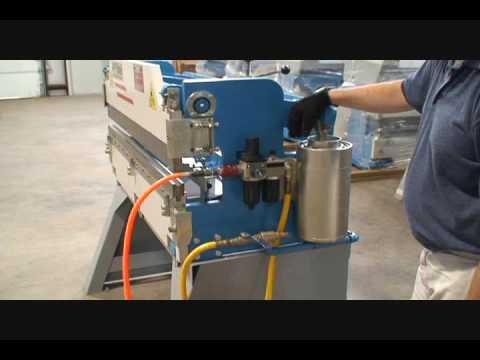 12 Ton Air Press Brake Youtube