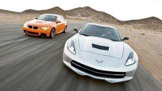 Track Tested: 2014 Chevy Corvette Stingray vs 2013 BMW M3 -- Edmunds.com