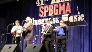 "Michael Cleveland & Flamekeeper - ""Too Late For Goodbyes"" - SPBGMA 2015"