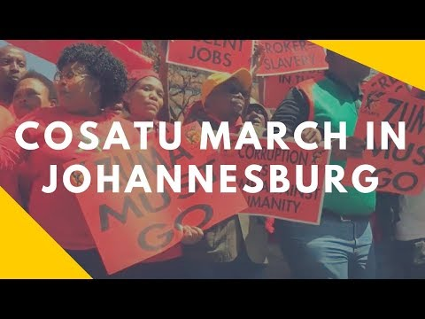 Costau March in Johannesburg