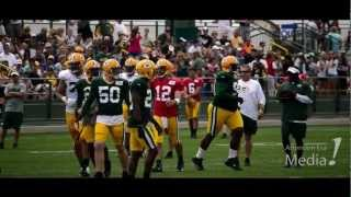 Green Bay Packers Training Camp Footage