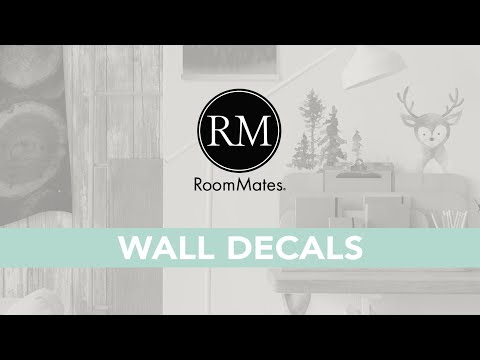 Room Decor in Seconds | RoomMates Wall Decals