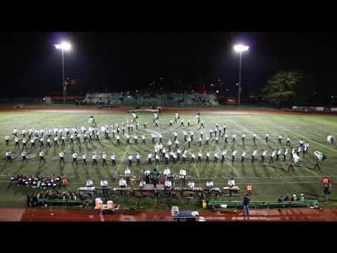 York Community High School Marching Band, Oct. 19th, 2018