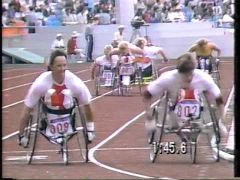 800m women's wheelchair race 1988 Seoul Olympics