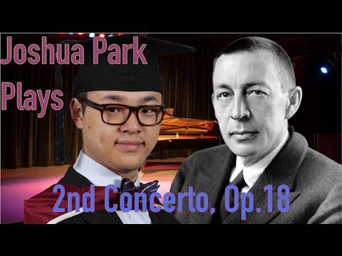 Joshua Park plays Rachmaninov Concerto No 2, 2 pianos edition