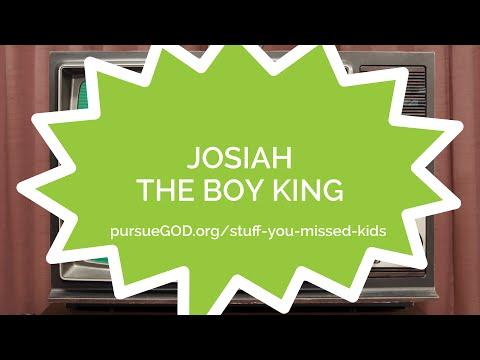 Stuff You Missed 5 - Josiah the Boy King