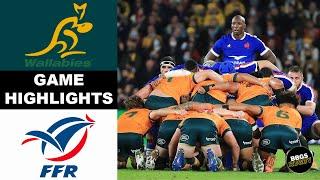 Australia vs France HIGHLIGHTS   Rugby Highlights 2021