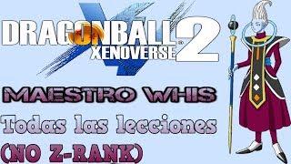『Xenoverse 2』Mentor Whis | Todas sus lecciones