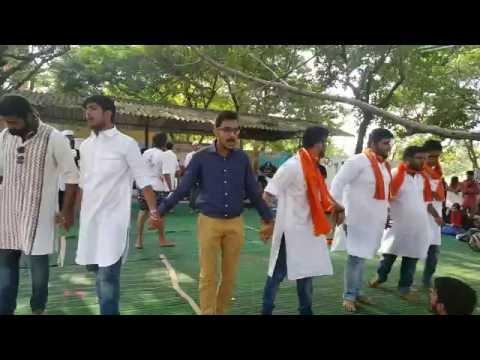 NLU Assam performs a nukkad natak at TOORYANAD 16.