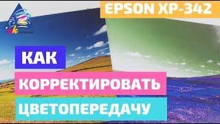 Яркие фото: как скорректировать цветопередачу. На примере Epson XP-342