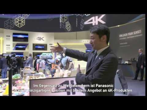 Panasonic zeigt auf der Convention 2015 breitestes 4K- und Fernsehsortiment aller Zeiten
