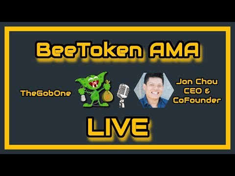 BeeToken - ICO/Project Review and AMA with Co-Founder Jon Chou