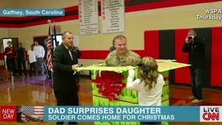 Dad gives ultimate Christmas surprise
