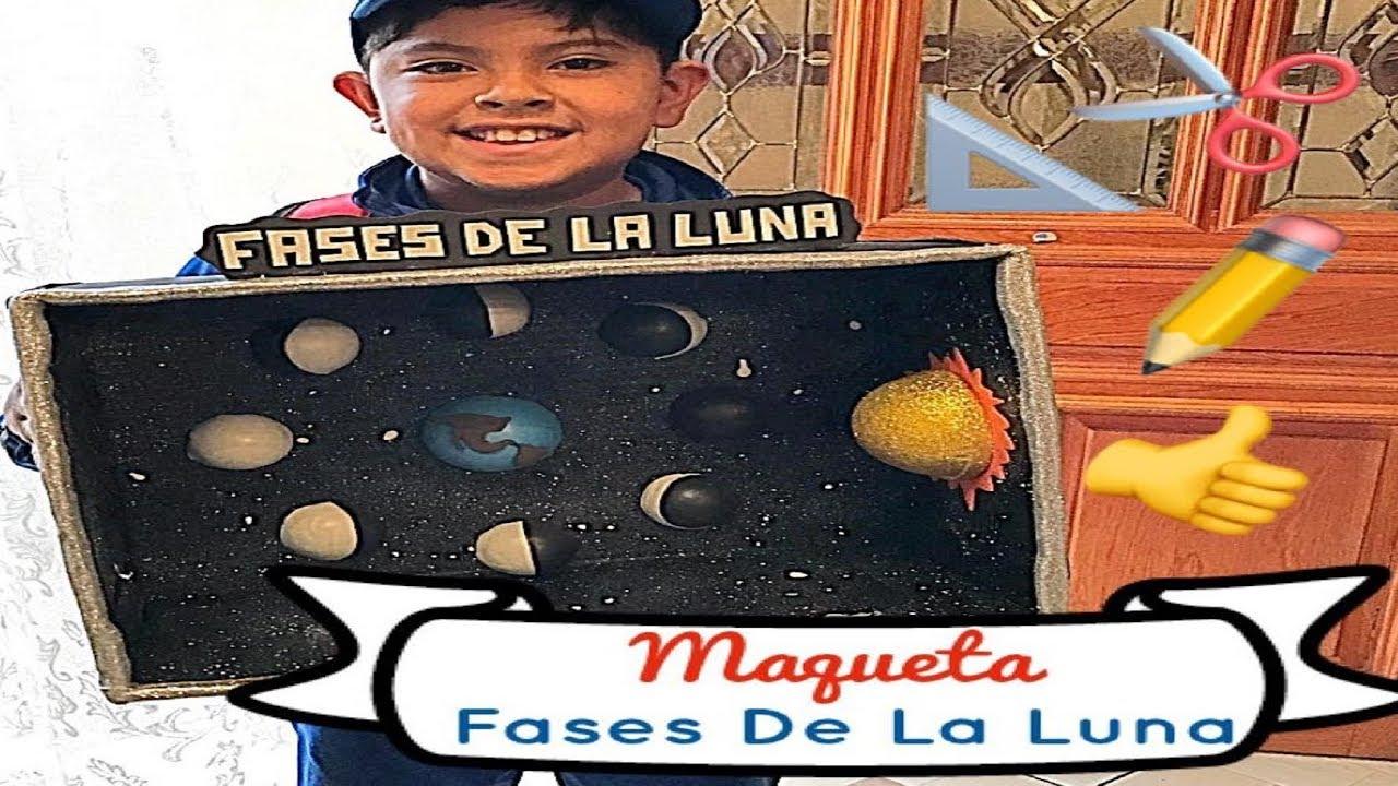 Fases De La Luna - Maqueta - YouTube